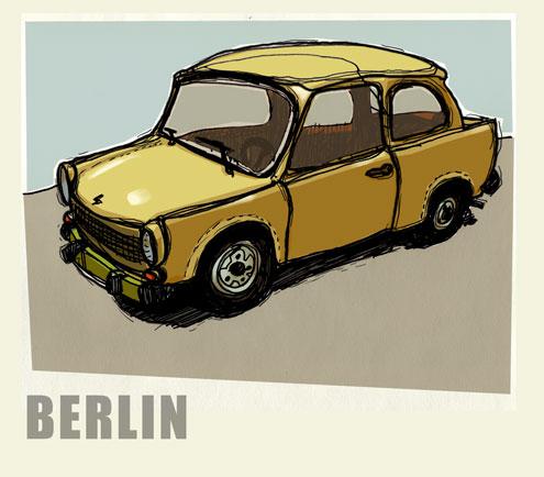 Vinatge Berlin Car
