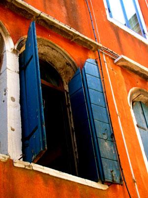 Blue Shutters of Venice