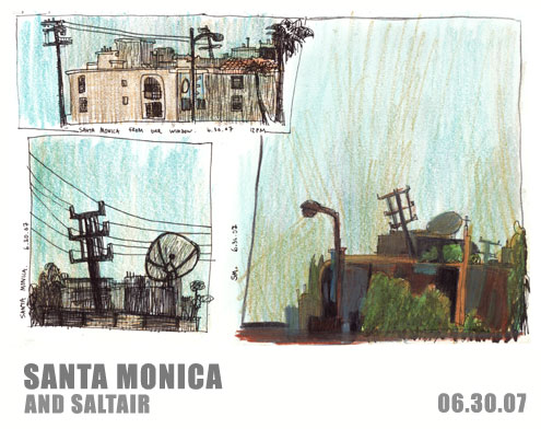 Santa Monica and Saltair