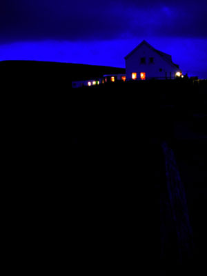 Worms Head at Night