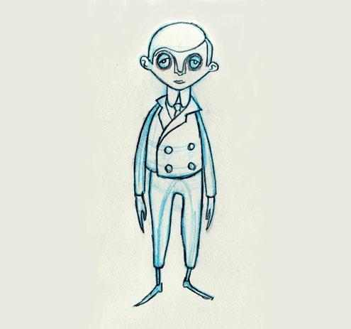Basil Character Design