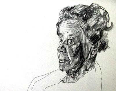 Life Drawing, Mary
