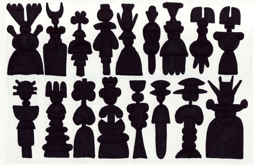 Silhouette Designs for Mildew, One