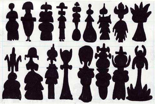 Silhouette Designs for Mildew, Four