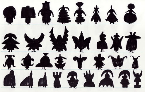 Silhouette Designs for Mildew, Two