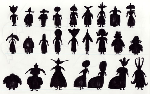 Silhouette Designs for Mildew, Three