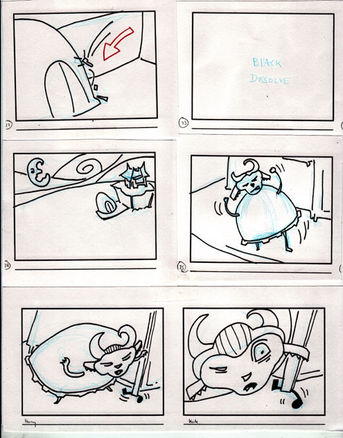Storyboard: The Gift