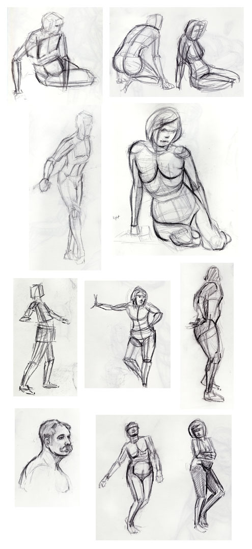 Life Drawing - Gestures