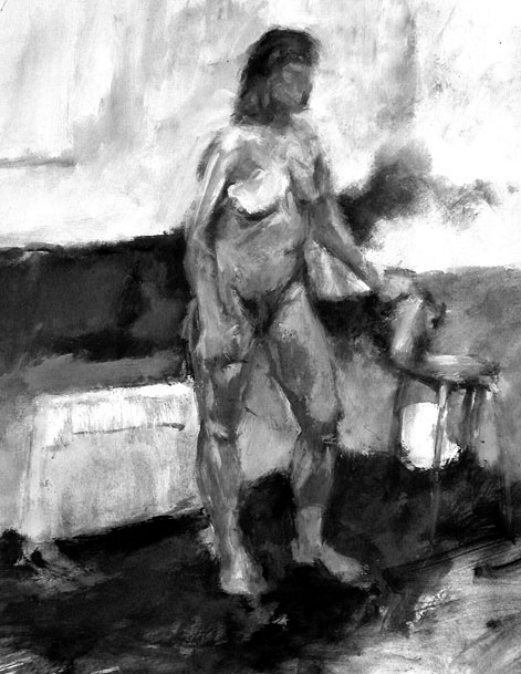 Life Drawing: Painting