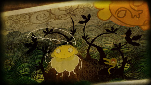 Dream Animation Stills, Giles Timms 2008