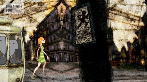 Image still from walk vignette