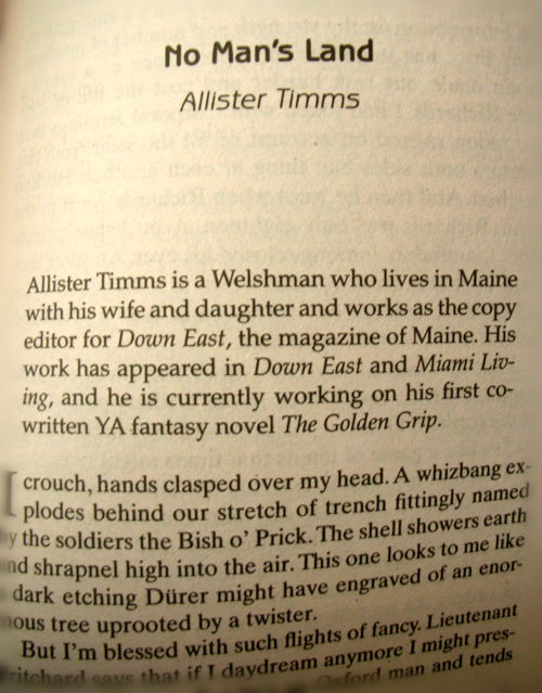 No Man's Land, Allister Timms, DAW Books, 2010