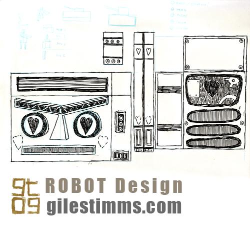 ROBOT Love design, Giles Timms 2009