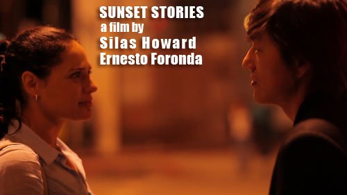 Still image the film 'Sunset Stories,' depicting Monique Curnen and Sung Kang 2012