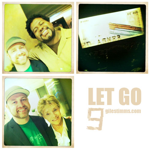 Giles Timms 2011, Let Go Première with Barbara Perry and Edward Grapevine Fordham
