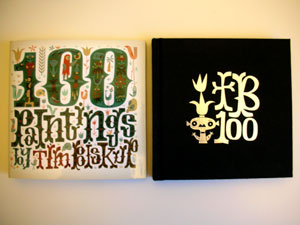 Tim Biskup's 100 Paintings