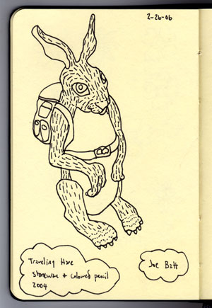 Joe Batt's 'Traveling Hare'